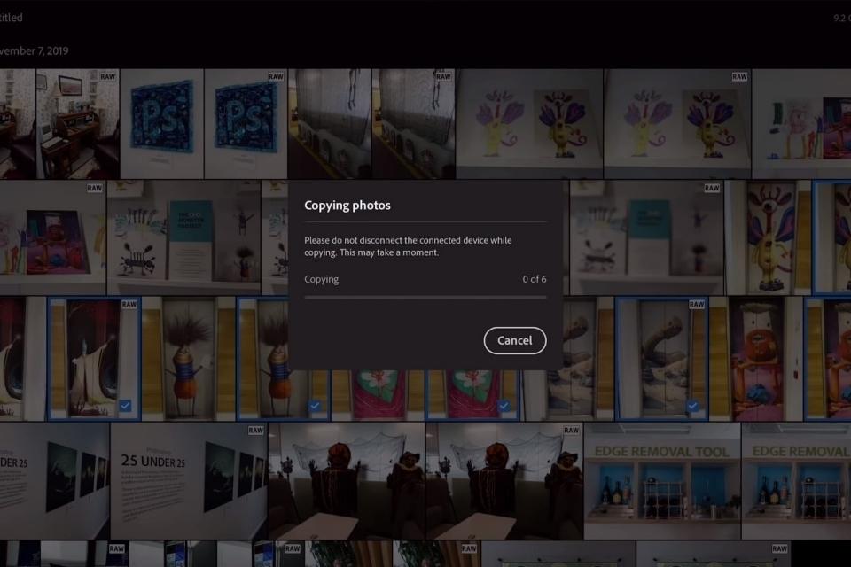 Adobe Lightroom vai ganhar importação de fotos de câmera e cartão no iPad