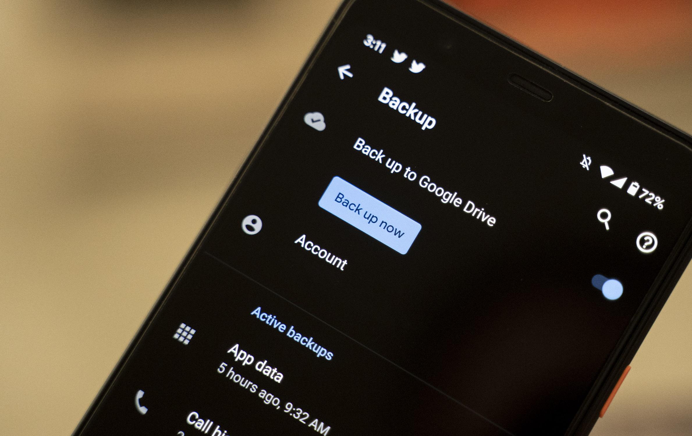Como fazer backup do seu celular Android