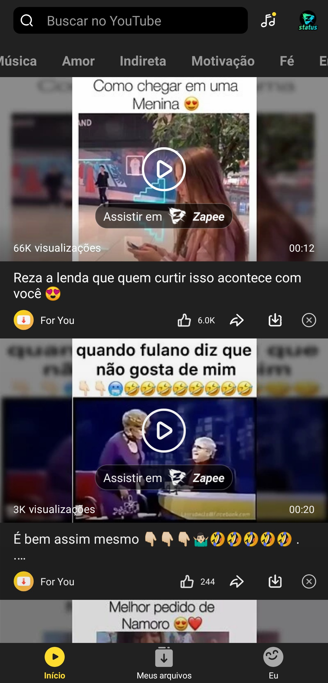 SnapTube - Imagem 1 do software