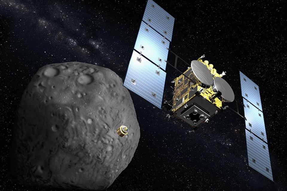 Sonda japonesa inicia retorno à Terra com amostra de asteroide