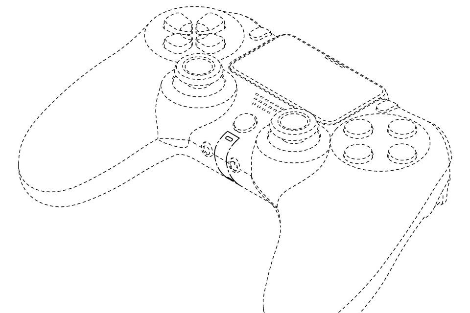 Controle do PS5 tem seu visual revelado em registro de patente