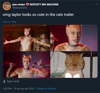 Cats: novo trailer reacende polêmica na internet