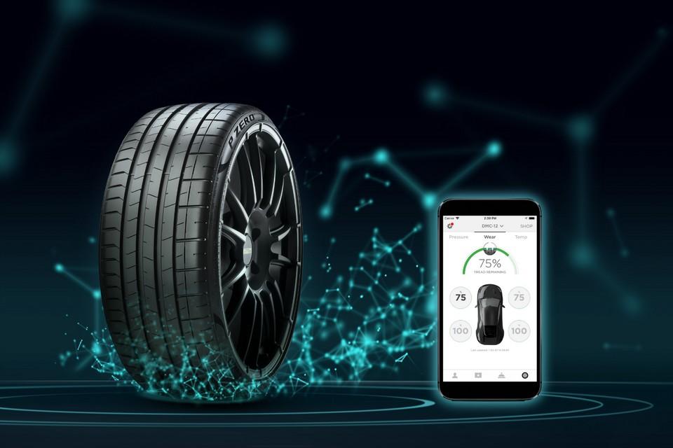Pneu 5G da Pirelli transmite condições da estrada ao motorista