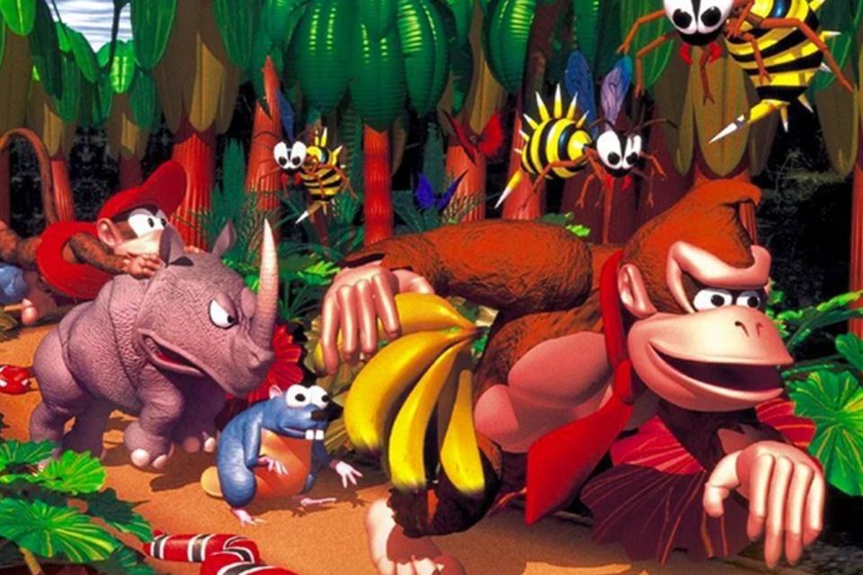 Nintendo se preocupou com excesso de 3D em Donkey Kong Country