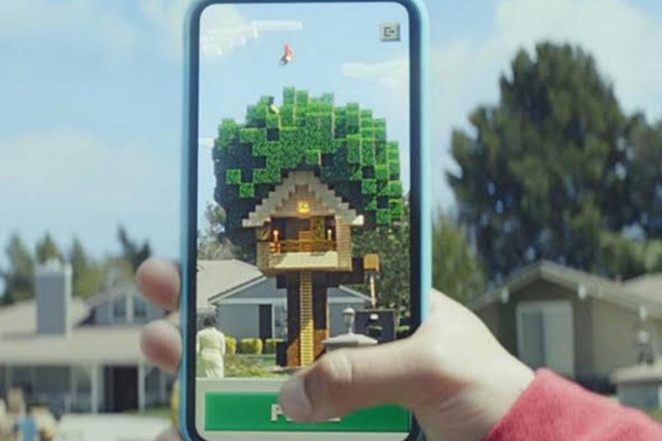 Minecraft Earth já teve cerca de 2,5 milhões de downloads