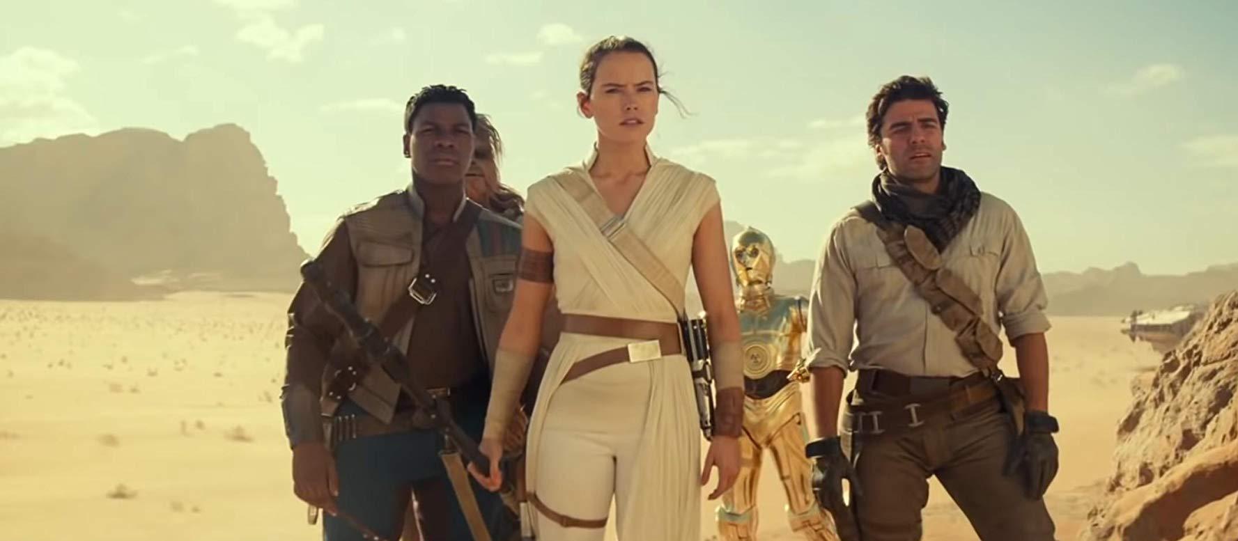 Star Wars: novo clipe traz fuga no deserto e troopers voadores