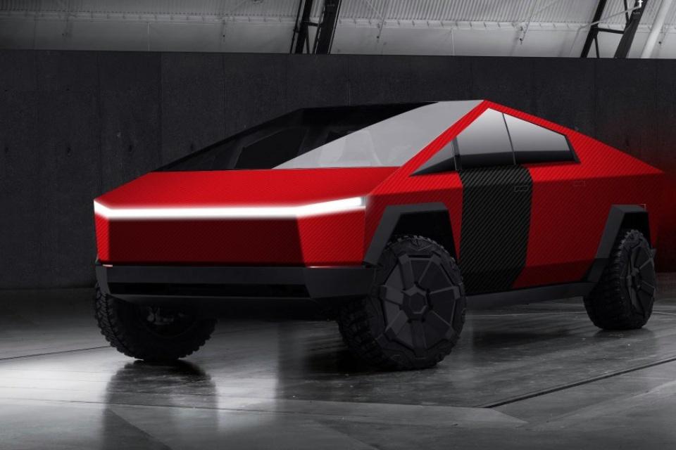 Cybertruck da Tesla poderá ser personalizada com skins da DBrand
