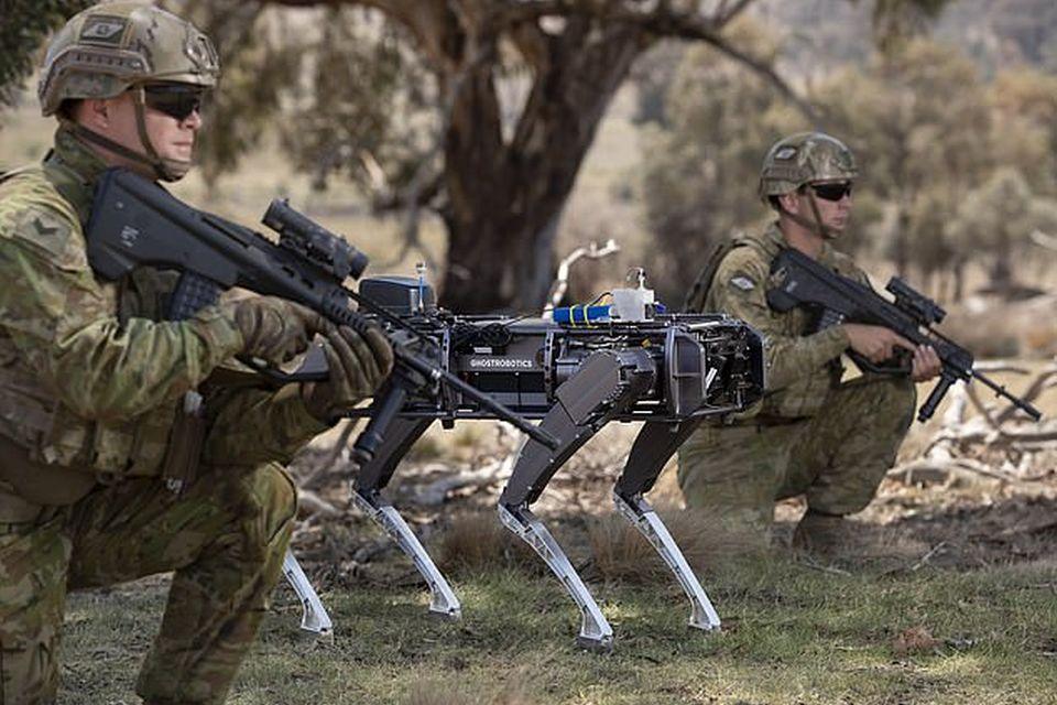 Exército da Austrália quer usar robôs para se proteger da China