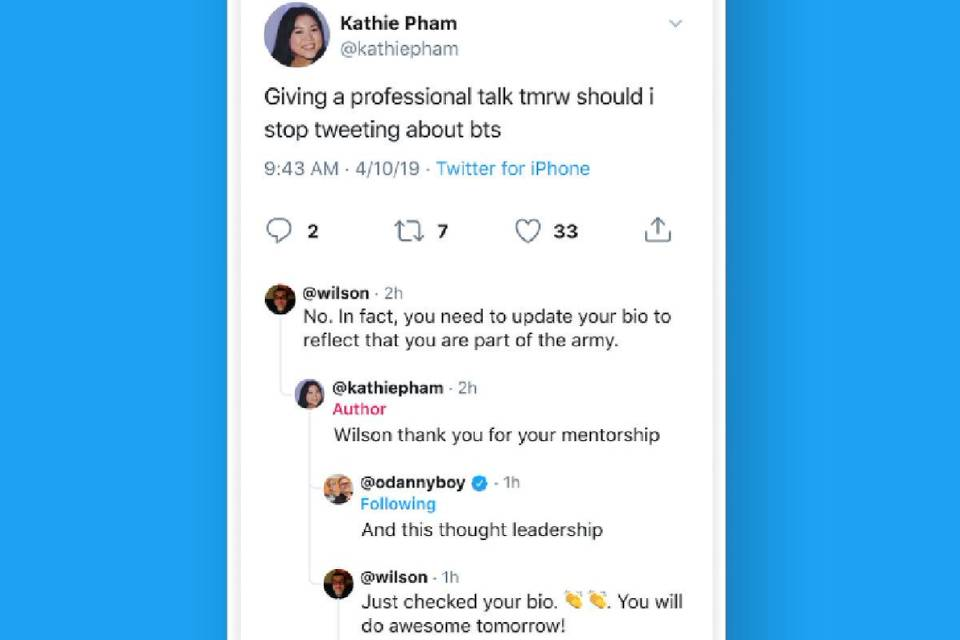 Twitter testa conceito de árvore de conversas e respostas