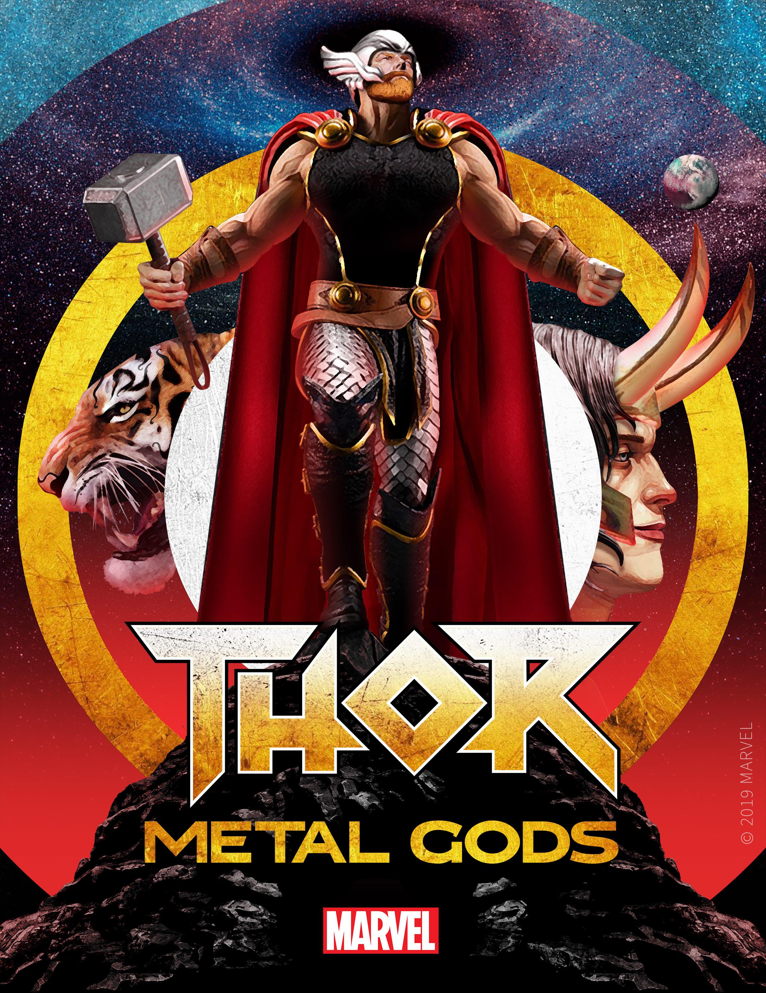 Thor: Metal Gods