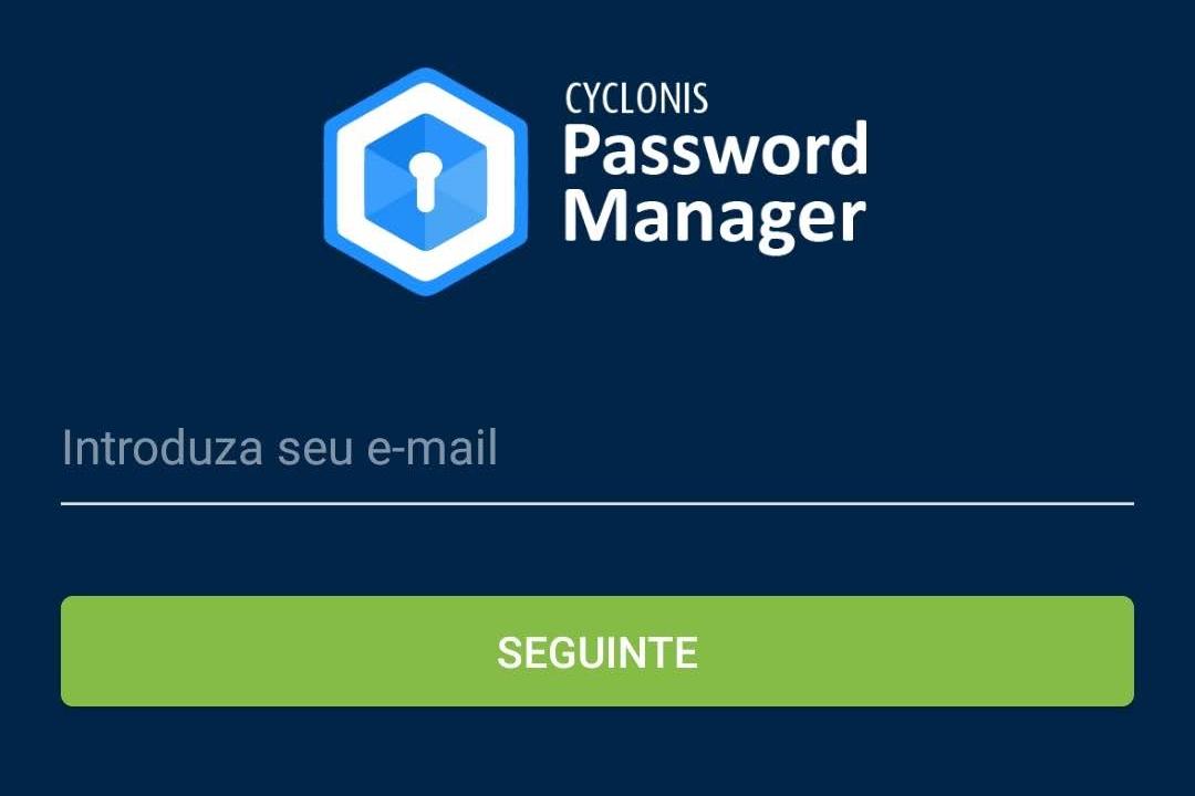 Cyclonis Password Manager - Imagem 2 do software