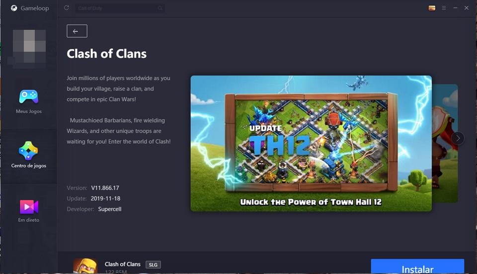 Clash of Clans para PC - Imagem 2 do software