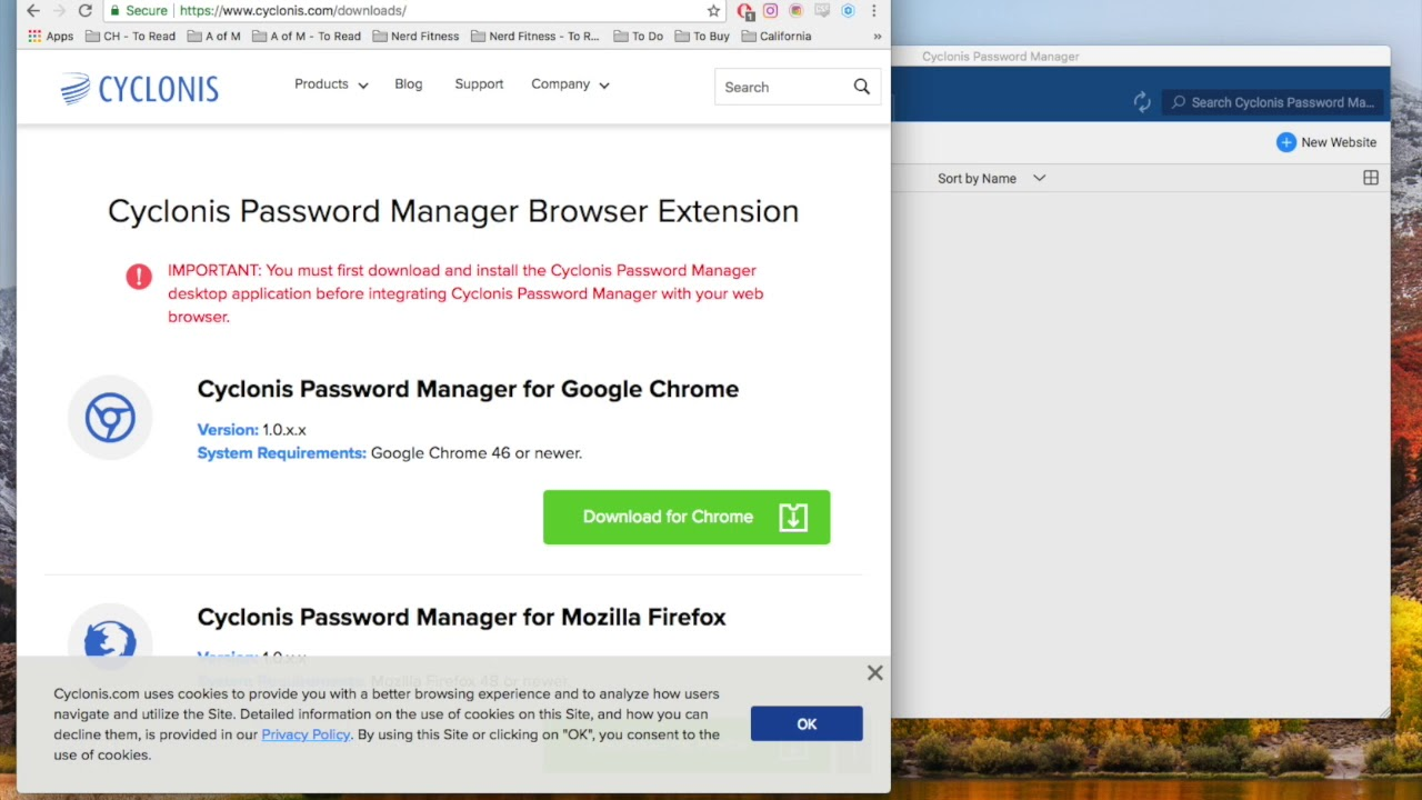 Cyclonis Password Manager - Imagem 1 do software