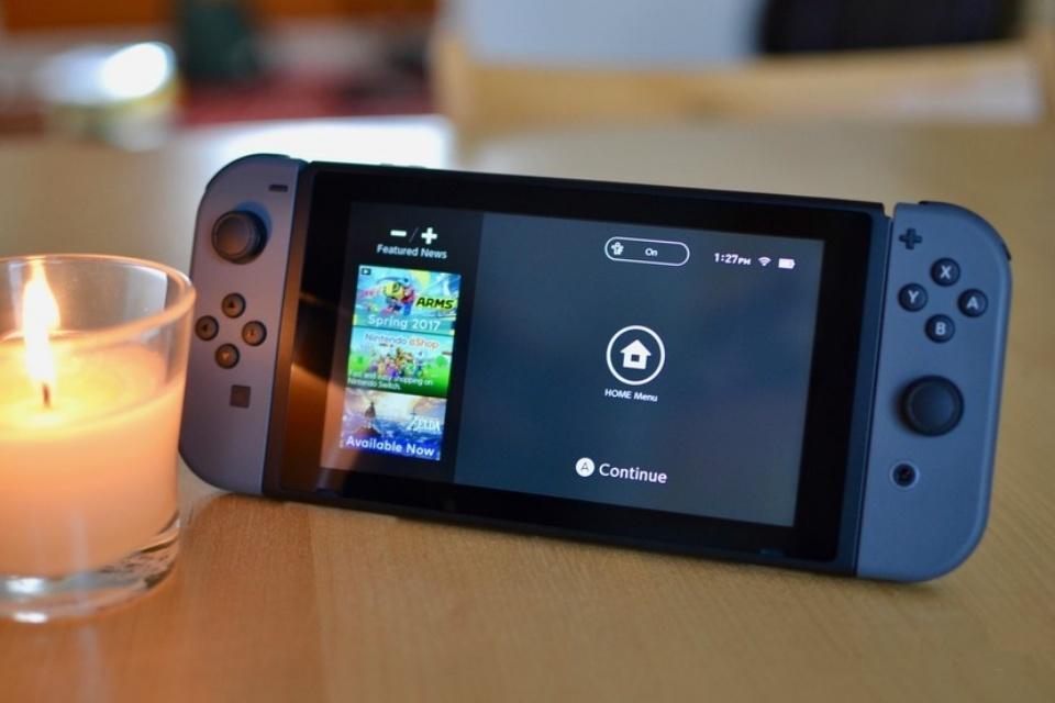 Nintendo Switch tem um Modo Escuro; veja como ativá-lo