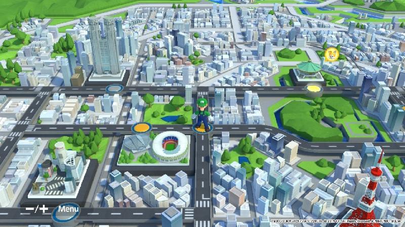 Mapa de Tóquio 2020
