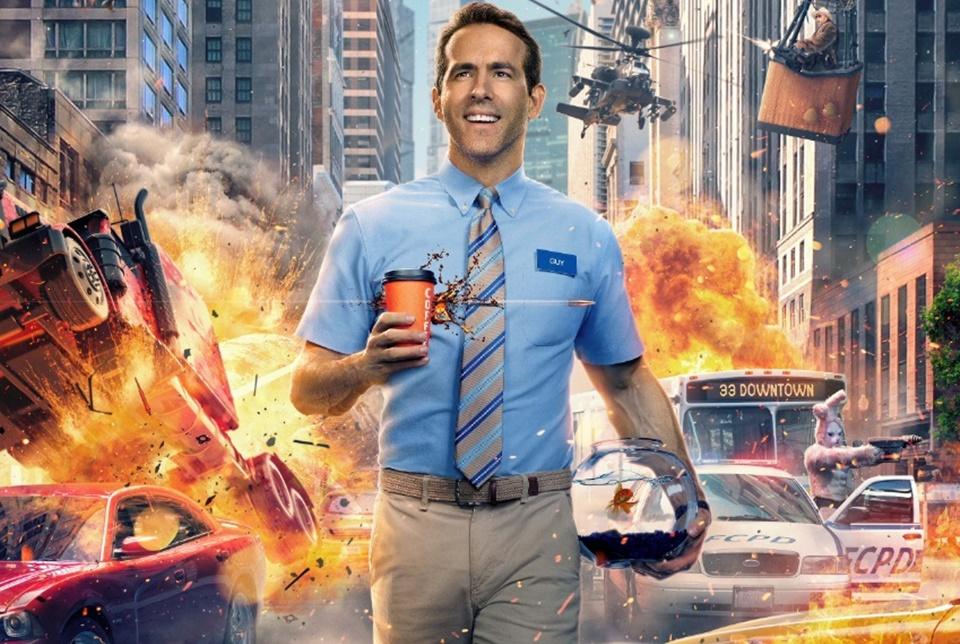 Ryan Reynolds é NPC de jogo multiplayer em Free Guy [trailer]