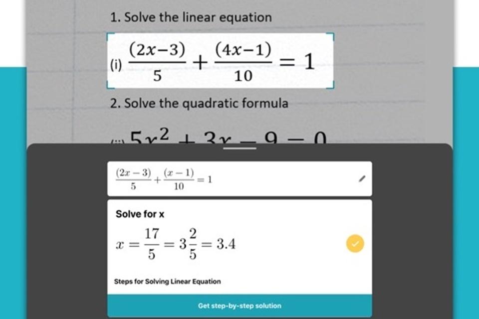 Novo app da Microsoft lê e resolve lições de matemática para você