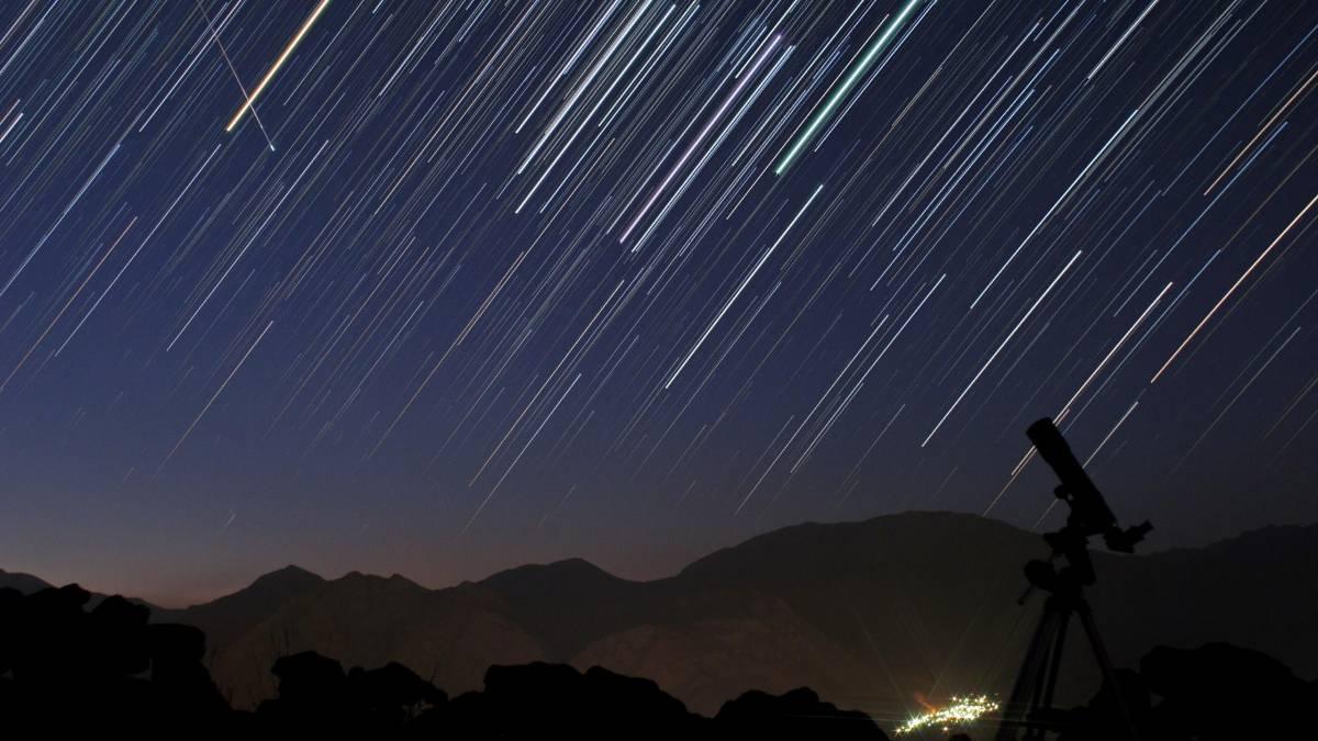 Chuva de meteoros hoje à noite! Saiba como e onde ver