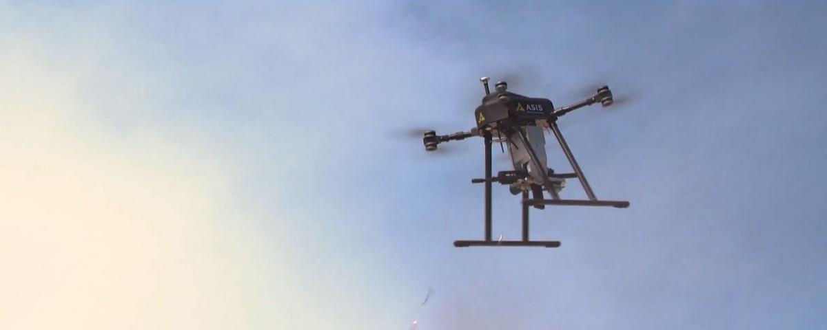 Imagem de: Drone-metralhadora da Turquia consegue atirar sem perder estabilidade