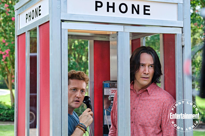 Bill & Ted 3: Keanu Reeves aparece nas primeiras imagens do novo filme