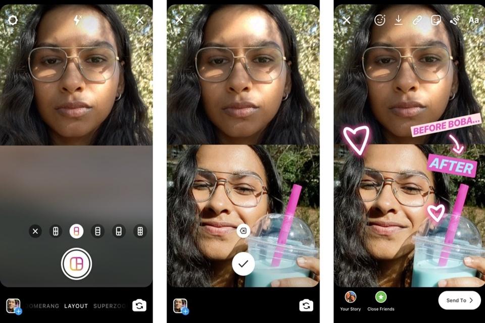 Instagram: agora você pode juntar várias fotos em um mesmo Story
