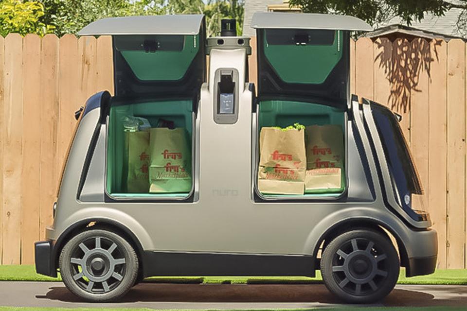 Carros autônomos poderão fazer entregas na Califórnia em 2020