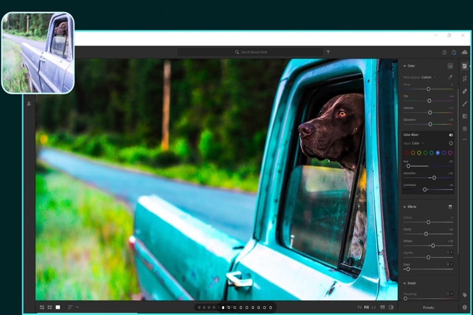 Adobe lança editor Lightroom individualmente na loja do Windows