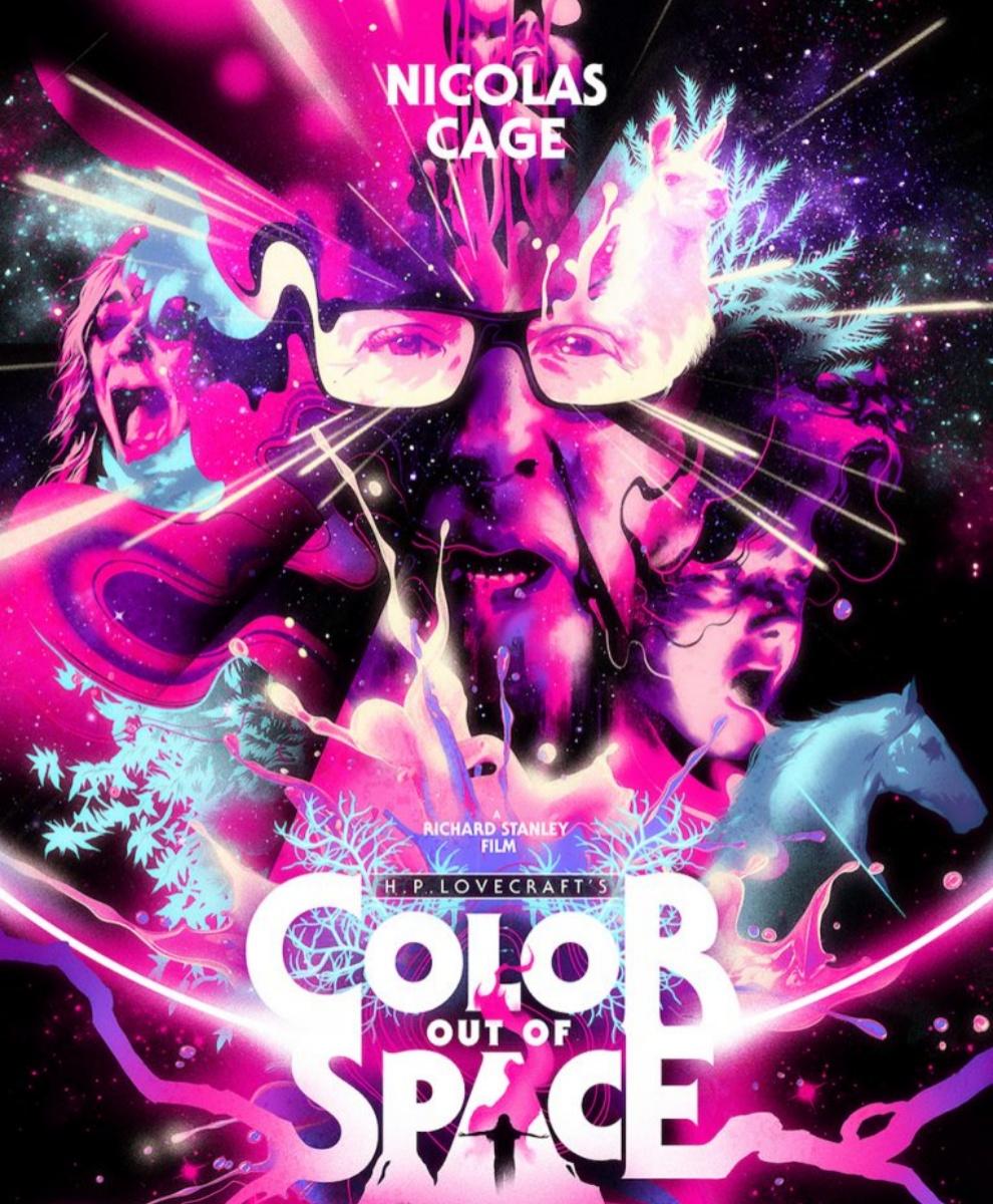 Pôster do novo filme de Nicolas Cage. (Fonte: Collider/Reprodução)