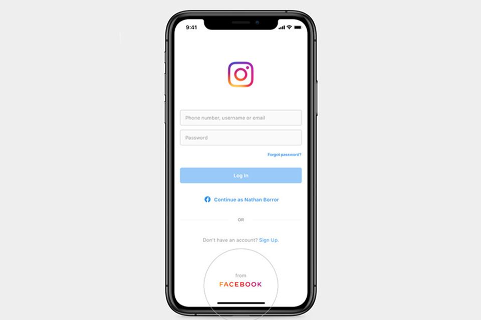 Instagram agora mostra logo do Facebook para barrar investigação