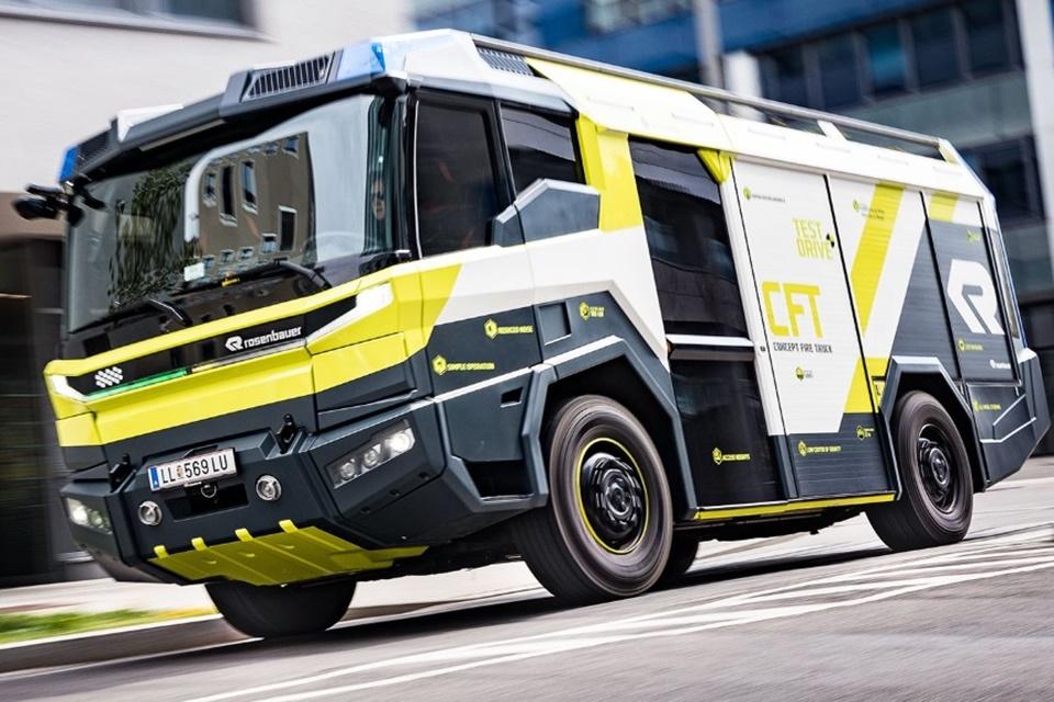 EUA terá caminhões de bombeiros futuristas e elétricos em 2021