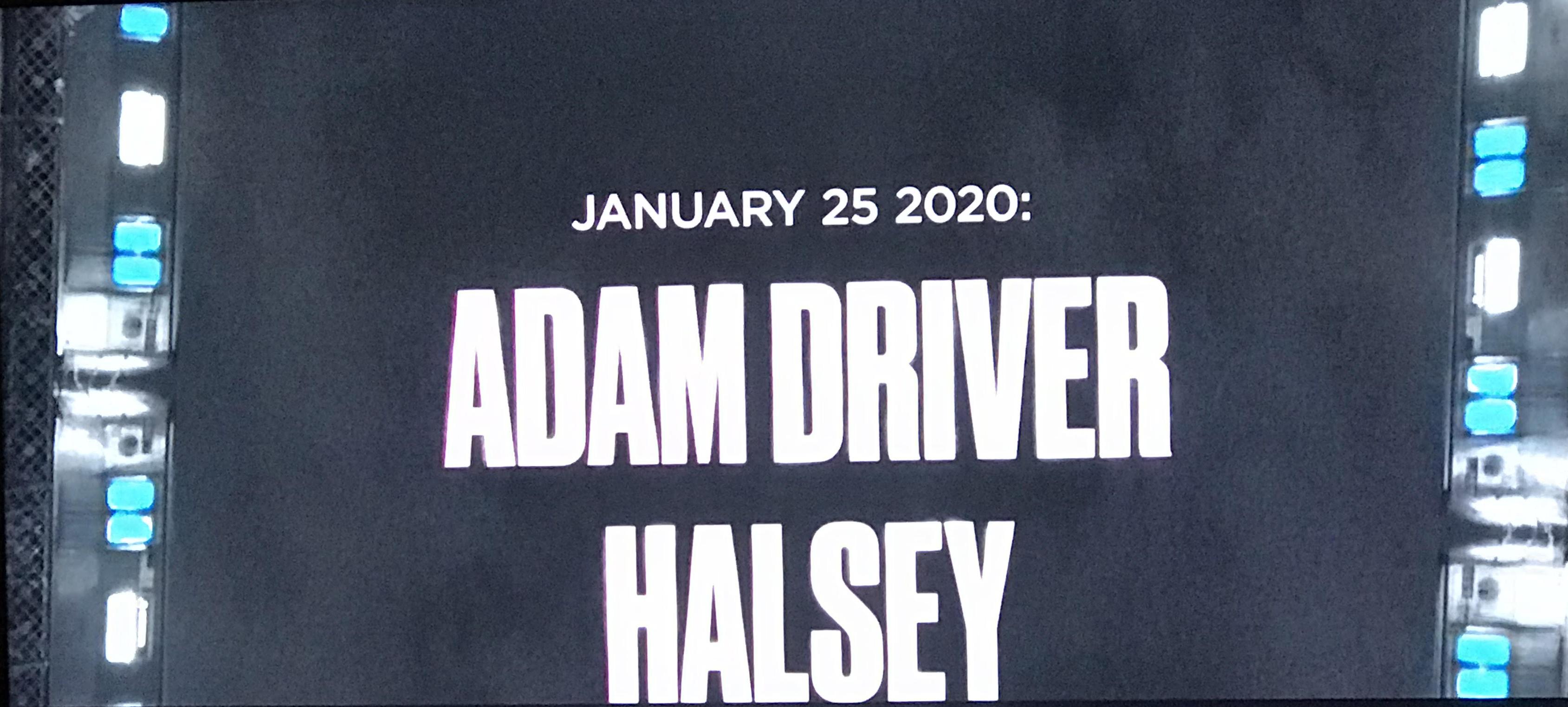 Adam Driver apresentará o Saturday Night Live em janeiro