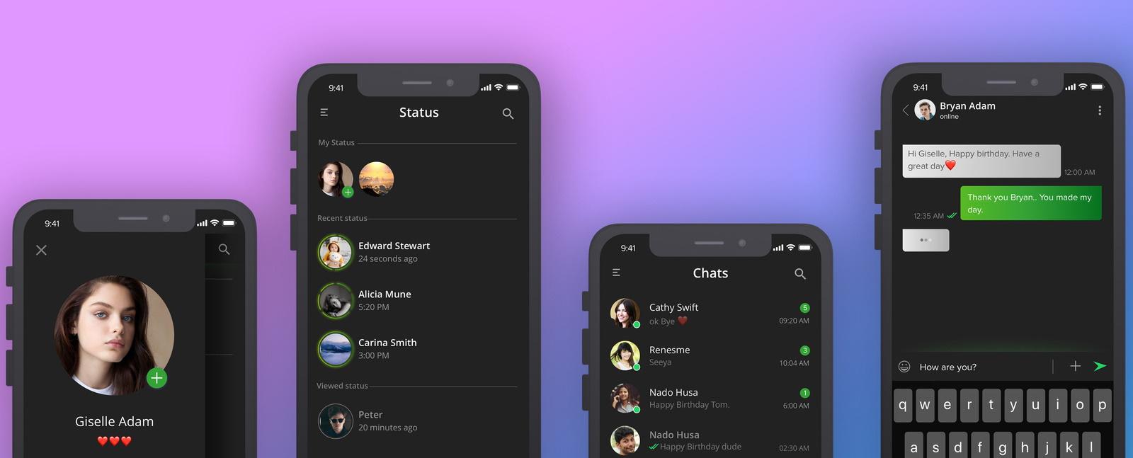 Imagem de: Modo escuro do WhatsApp surge — de novo — em versão Beta