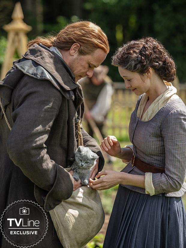 Outlander: novo membro da família Fraser aparece em novas fotos