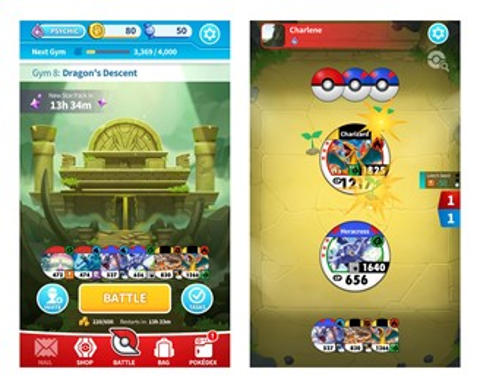 Pokemon Tower Battle and Medallion Battle arrive for Facebook