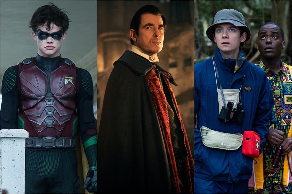 Janeiro na Netflix: Titãs, Drácula, Sex Education e mais estreias
