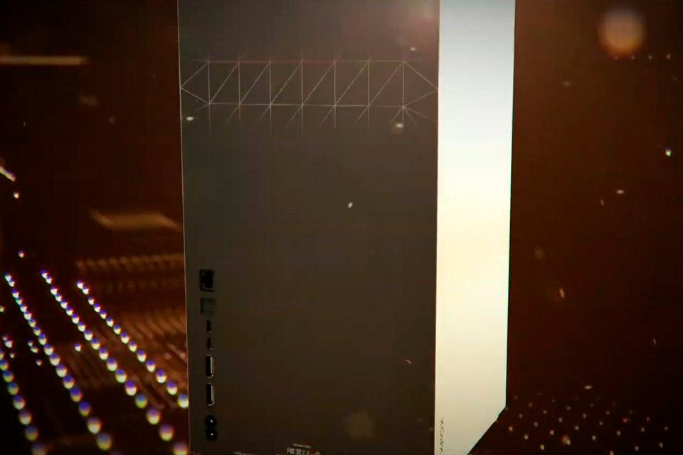 AMD exibe imagem falsa do Xbox Series X na CES 2020