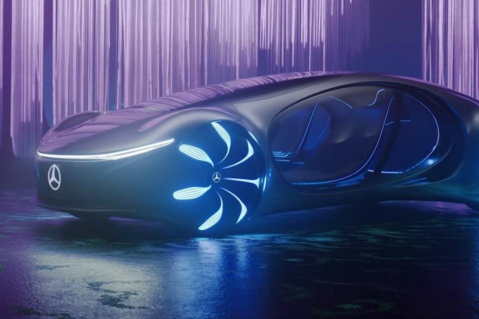 Vision AVTR: conheça o veículo da Mercedes Benz baseado em Avatar