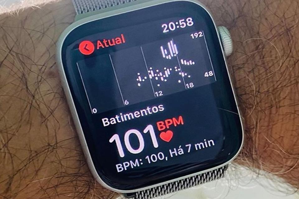 Brasileiro descobre taquicardia graças ao Apple Watch