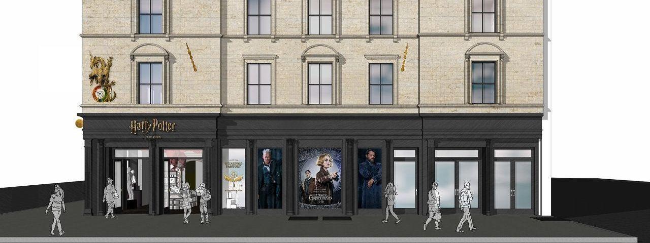 Imagem de: Primeira loja oficial de Harry Potter será aberta em Nova York