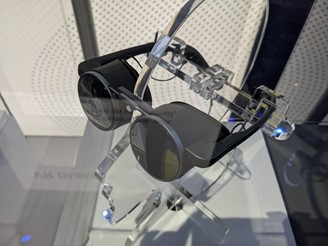 Panasonic shows high definition augmented reality glasses