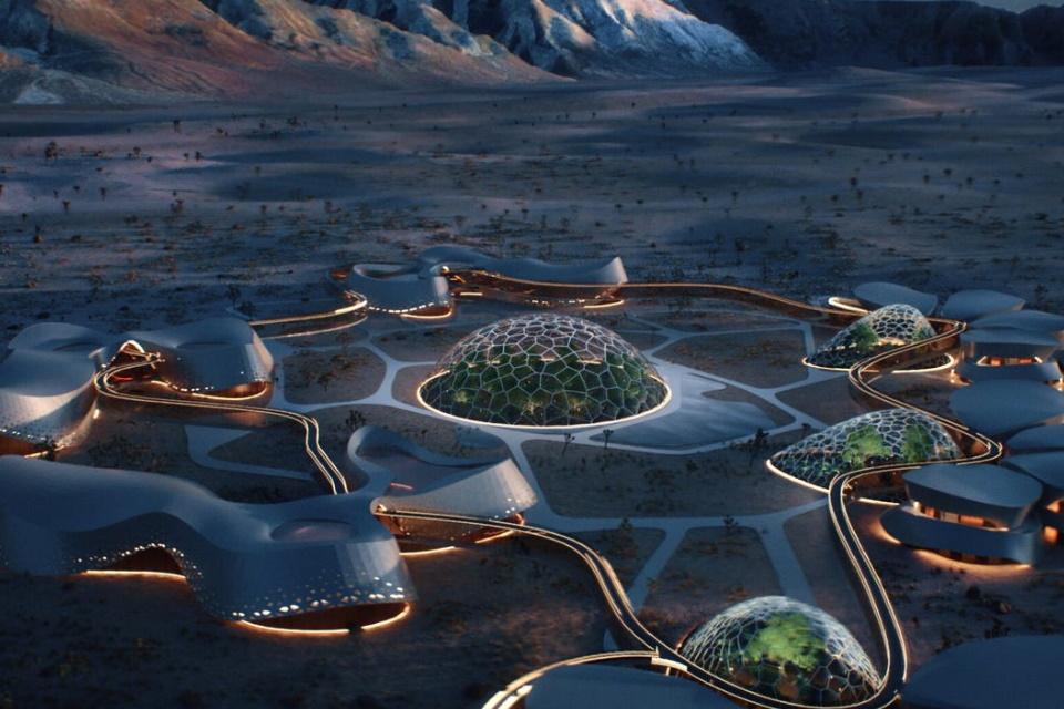 Protótipo de vila marciana será construído no deserto de Mojave