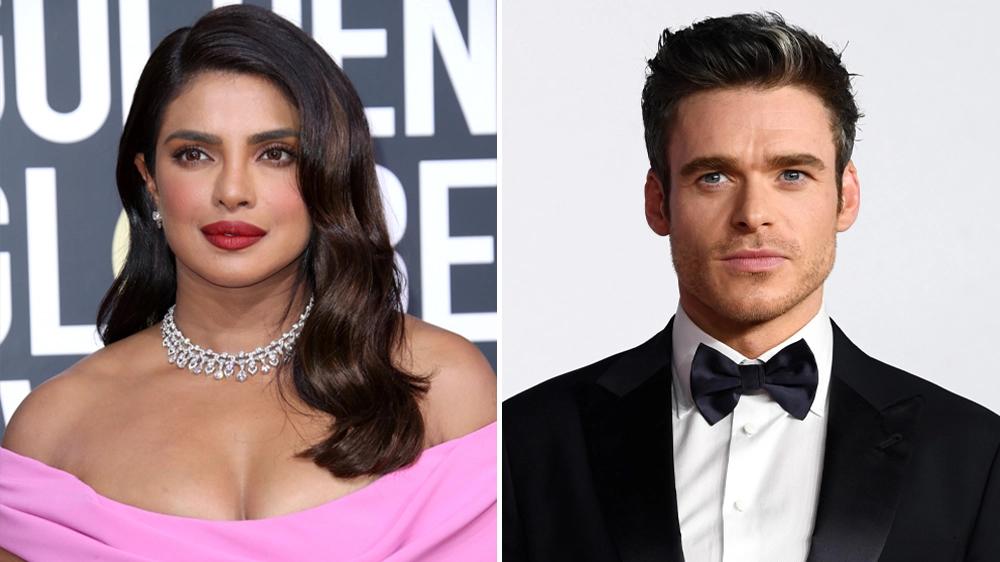 Priyanka Chopra Jonas e Richard Madden estarão em nova série da Amazon