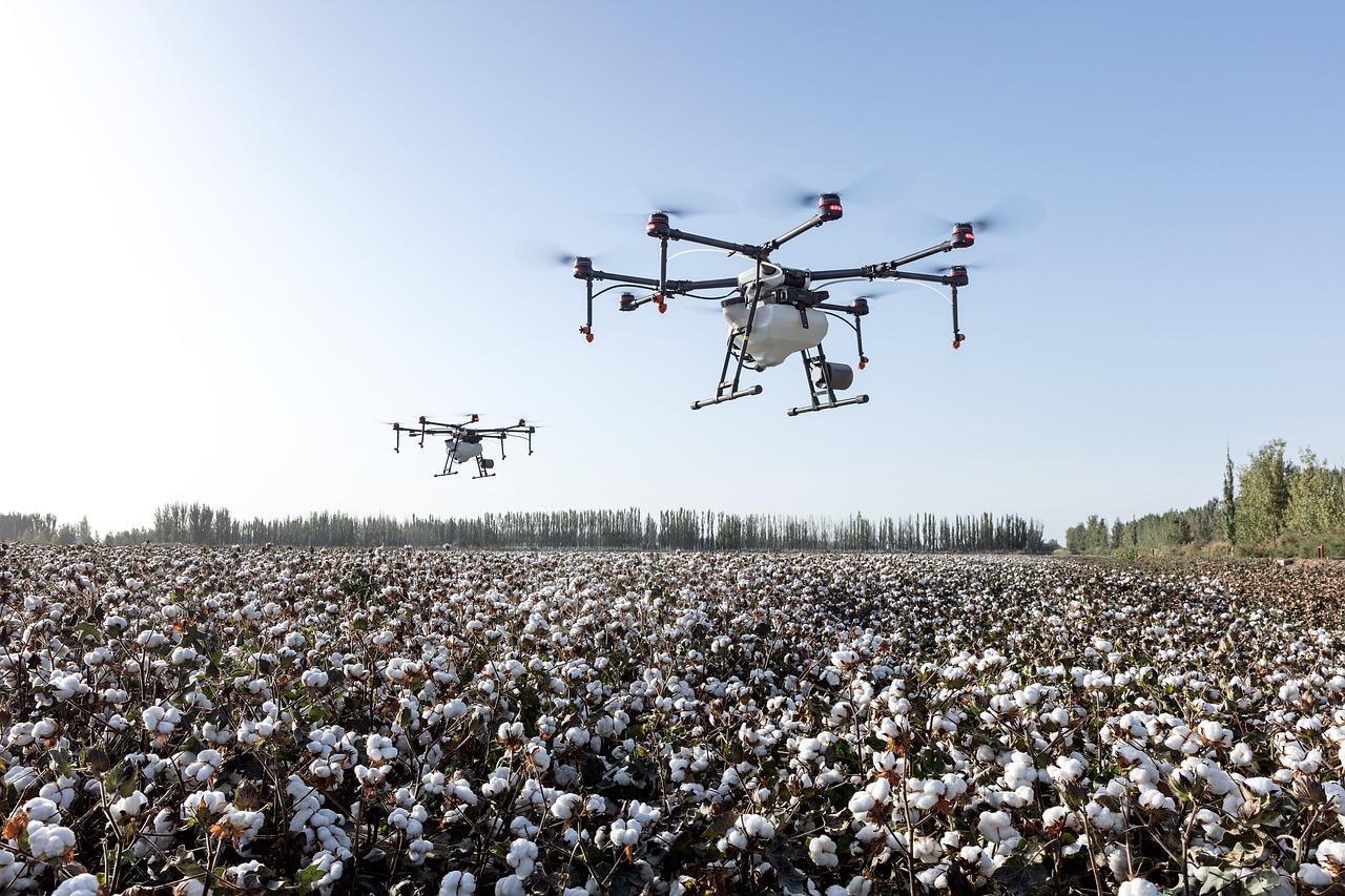 Drones para plantação