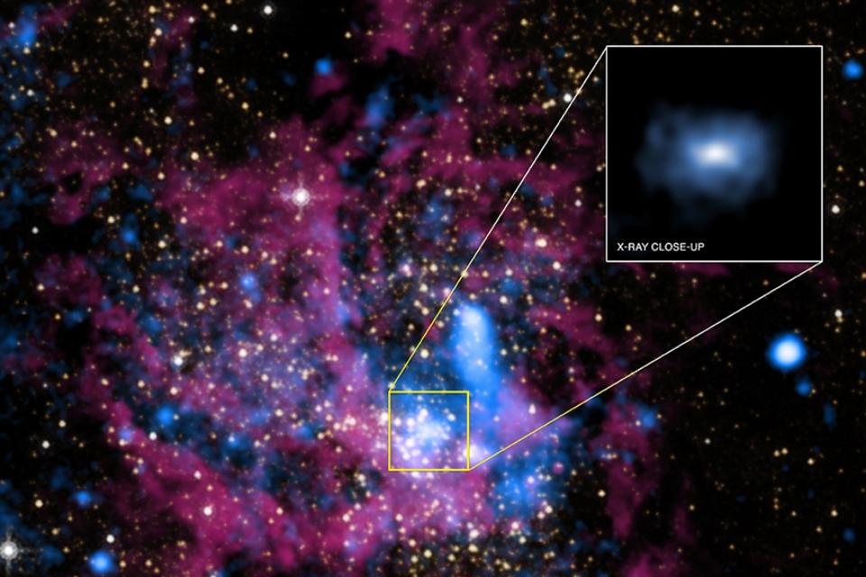 Novos objetos são descobertos próximos a buraco negro no centro da galáxia