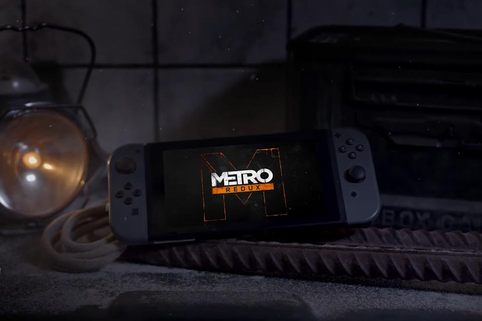 Metro Redux chega ao Nintendo Switch em fevereiro