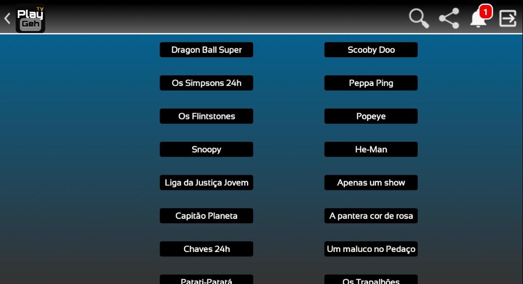 PlayTV GEH - Imagem 2 do software