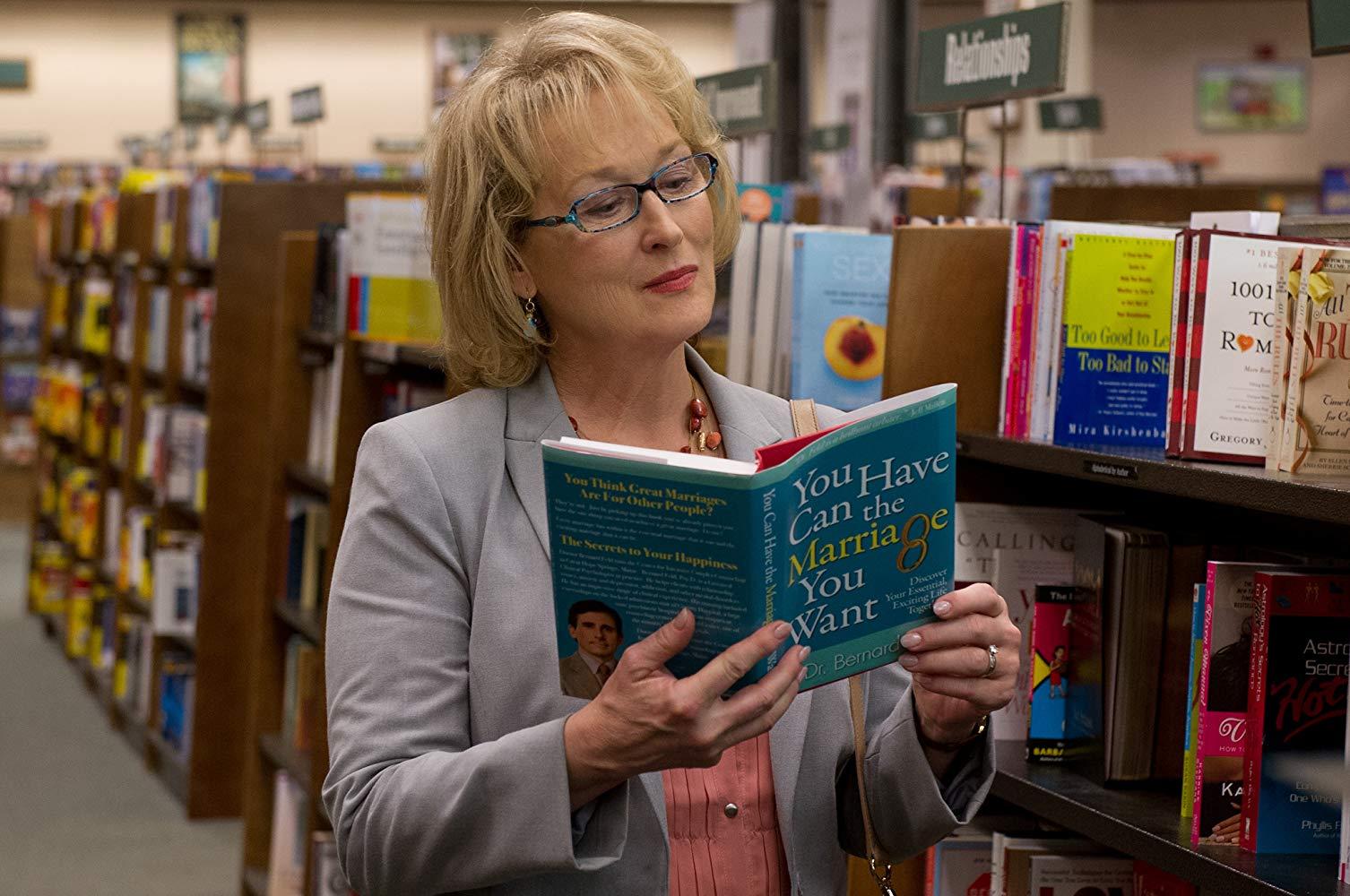 Meryl Streep em 'Um Divã para Dois' - 2012 (Fonte: IMDb/Reprodução)