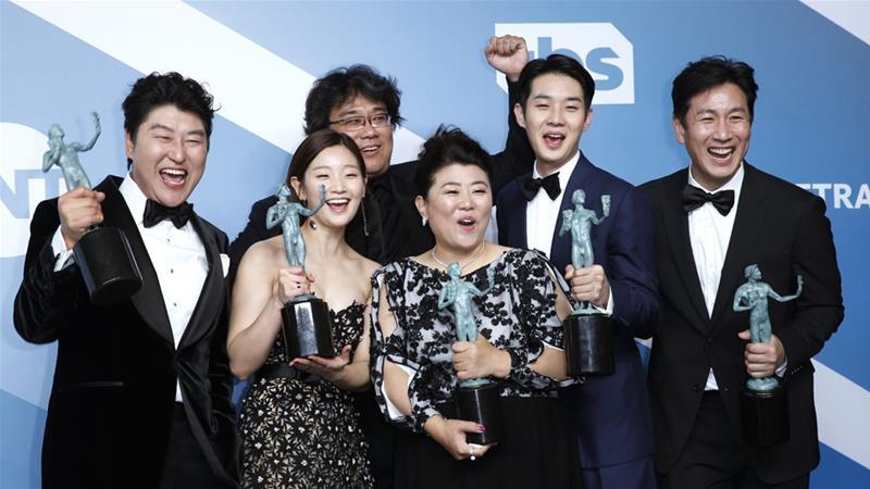 """Parasita"" faz marco histórico no SAG Awards"