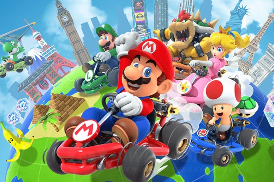 Mario Kart Tour terá teste multiplayer aberto para todos em breve