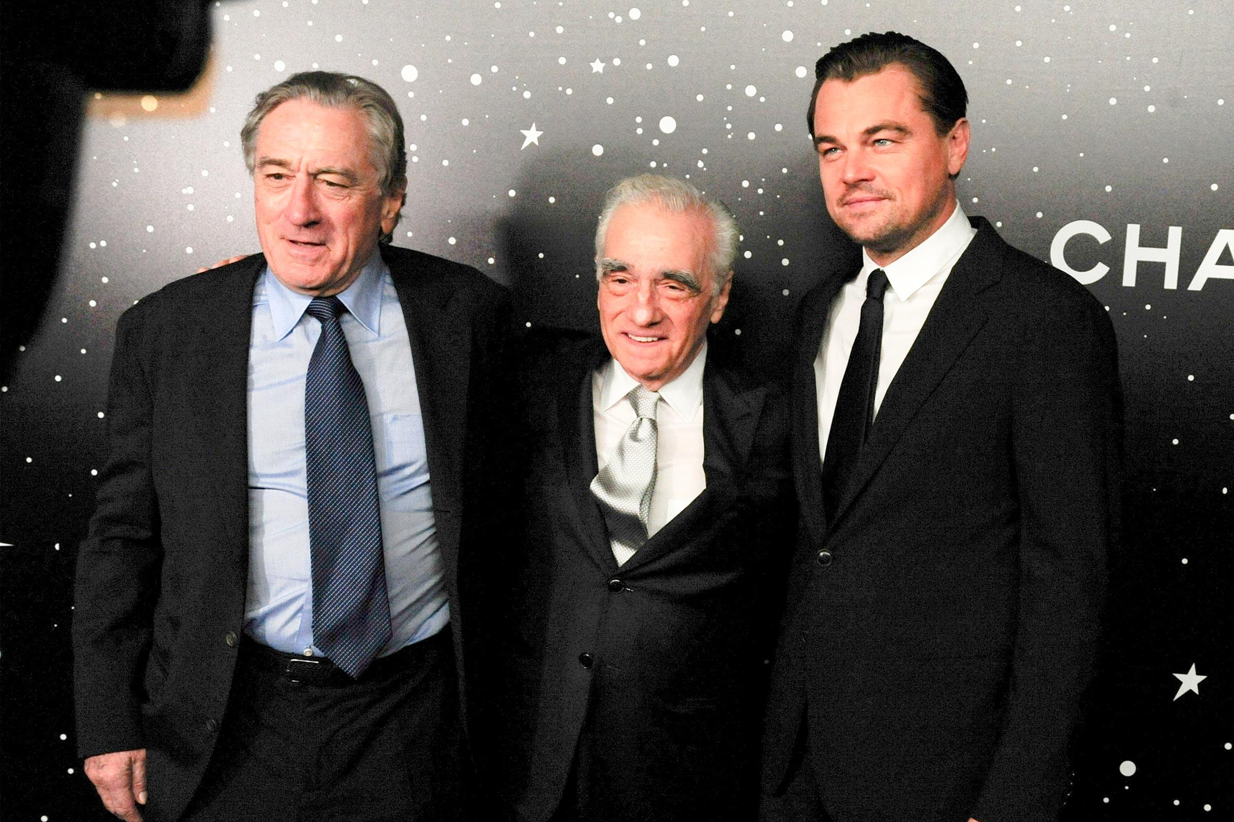 Leonardo DiCaprio e Robert De Niro estarão no próximo filme de Scorsese